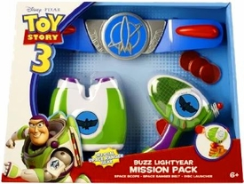 Disney / Pixar Toy Story 3 Deluxe Playset Buzz Lightyear Mission Pack [Space Scope, Space Ranger Belt & Disc Launcher]