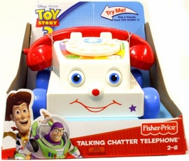 Disney / Pixar Toy Story 3 Fisher Price Talking Chatter Telephone