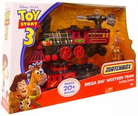 Disney / Pixar Toy Story 3 Matchbox Building System Mega Rig Western Train