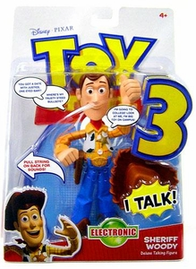 Disney / Pixar Toy Story 3 Movie Deluxe Talking Action Figure Woody