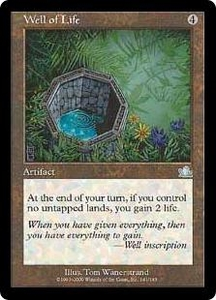 Magic the Gathering Prophecy Single Card Uncommon #141 Well of Life