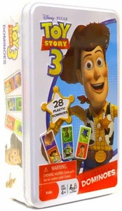 Disney / Pixar Toy Story 3 Dominoes Game In Tin BLOWOUT SALE!