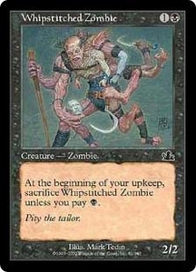 Magic the Gathering Prophecy Single Card Common #81 Whipstitched Zombie