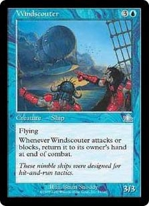 Magic the Gathering Prophecy Single Card Uncommon #53 Windscouter
