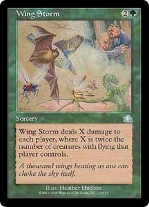 Magic the Gathering Prophecy Single Card Uncommon #135 Wing Storm
