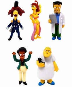 The Simpsons 20 Years Mini Figure 5-Piece Set