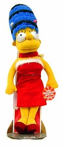 The Simpsons 12 Inch Deluxe Plush Figure Holiday Marge