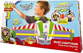 Disney / Pixar Toy Story 3 Electronic Roleplay Toy Buzz Lightyear Deluxe Action Wing Pack