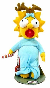 The Simpsons 12 Inch Deluxe Plush Figure Holiday Maggie