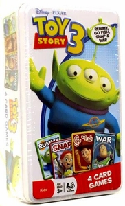 Disney / Pixar Toy Story 3 Tin of 4 Card Games