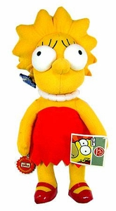 The Simpsons 10 Inch Deluxe Plush Figure Lisa [With Stand]