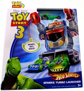 Disney / Pixar Toy Story 3 Hot Wheels Die Cast Vehicle Sparks Turbo Launcher