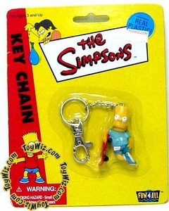 The Simpsons Bart Keychain