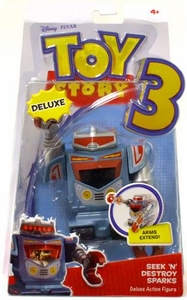 Disney / Pixar Toy Story 3 Deluxe Action Figure Seek N Destroy Sparks