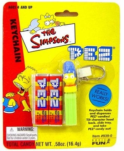 The Simpsons PEZ Keychains Marge