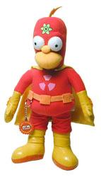 The Simpsons Plush Figure Radioactive Man