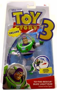 Disney / Pixar Toy Story 3 Deluxe Action Figure To The Rescue Buzz Lightyear