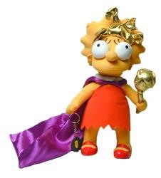 The Simpsons Plush Figure Lisa The Beauty Queen