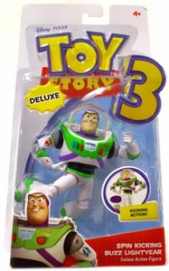 Disney / Pixar Toy Story 3 Deluxe Action Figure Spin Kicking Buzz Lightyear