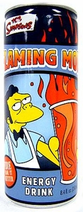 Energy Drink The Simpsons Flaming Moe