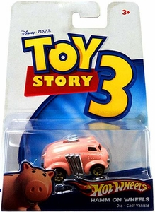 Disney / Pixar Toy Story 3 Hot Wheels Die Cast Vehicle Hamm On Wheels