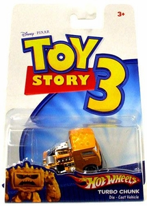 Disney / Pixar Toy Story 3 Hot Wheels Die Cast Vehicle Turbo Chunk