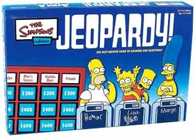 Board Game Simpsons Jeopardy Set