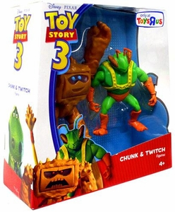 Disney / Pixar Toy Story 3 Exclusive Deluxe Action Figure 2-Pack Chunk & Twitch
