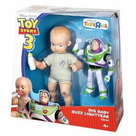 Disney / Pixar Toy Story 3 Exclusive Deluxe Action Figure 2-Pack Big Baby & Buzz Lightyear