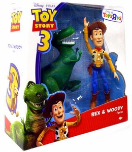 Disney / Pixar Toy Story 3 Exclusive Deluxe Action Figure 2-Pack Rex & Woody