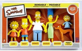 The Simpsons Series 1 Bendables 6-Pack
