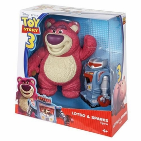 Disney / Pixar Toy Story 3 Exclusive Deluxe Action Figure 2-Pack Lotso & Sparks