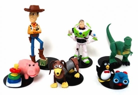 Toy Story 3 Tomy Gashopan Buildable Figures Set of 6