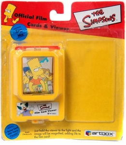 The Simpsons Artbox Official Film Cards Viewer