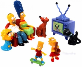 The Simpsons 8 Piece Mini Figure Set