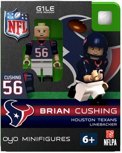 OYO Football NFL Building Brick Minifigure Brian Cushing [Houston Texans]