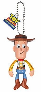 Toy Story Tomy Gashopan Swinging Figure Woody