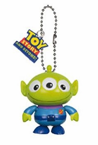 Toy Story Tomy Gashopan Swinging Figure Squeeze Alien