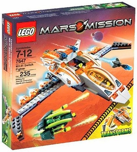 LEGO Mars Mission Set #7647 MX-41 Switch Fighter