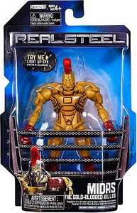 Real Steel Movie Series 1 BASIC Action Figure Midas [Gold Blooded Killer]