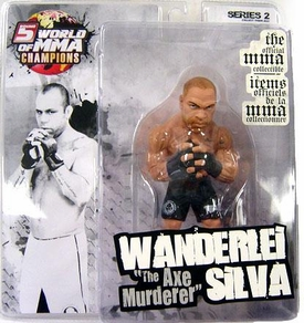 Round 5 World of MMA Champions UFC Exclusive Action Figure Wanderlei