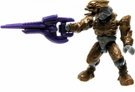 Halo Wars Mega Bloks LOOSE Mini Figure Covenant Bronze Elite with Carbine