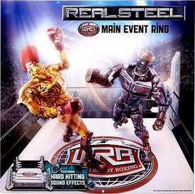 Real Steel Movie WRB Main Event Ring Playset [Hard Hitting Sound Effects]