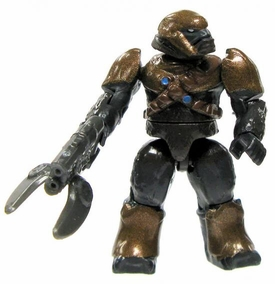 Halo Wars Mega Bloks LOOSE Mini Figure Covenant Copper Brute with Spiker