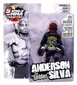 Round 5 World of MMA Champions UFC Exclusive Action Figure Anderson