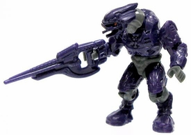Halo Wars Mega Bloks LOOSE Mini Figure Covenant Purple Elite with Carbine