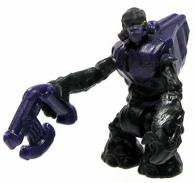 Halo Wars Mega Bloks LOOSE Mini Figure Covenant Purple Grunt with Plasma Pistol
