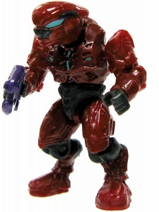 Halo Wars Mega Bloks LOOSE Mini Figure Covenant Red Elite Pilot with Plasma Pistol