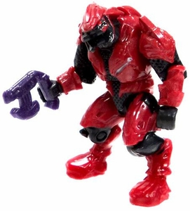 Halo Wars Mega Bloks LOOSE Mini Figure Covenant Red Elite with Pistol
