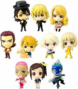 Tiger & Bunny Off Shot Edition Trading Figures Set of 10 Mini Figures
